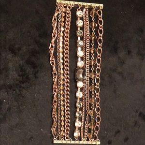 Multiple strand bracelet